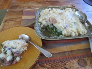 Spinach Shepard's Pie