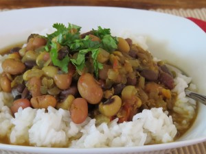 Mixed Lentils & Bean Soup