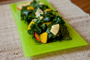 Can't Beet the Apples and Kale Salad